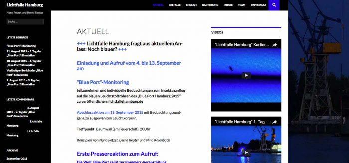 LIchtfalle Hamburg
